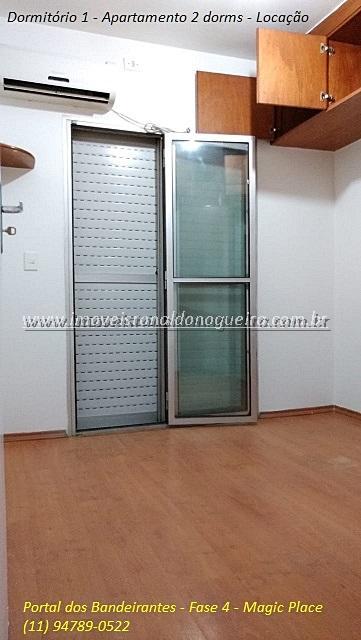 Aluguel De Apartamento Tipo No Portal Dos Bandeirantes - Jd. Iris Em São Paulo-SP